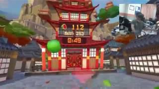 FRUIT NINJA || VR GAME SHOW