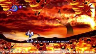 Earthworm Jim HD Walkthrough - What the Heck