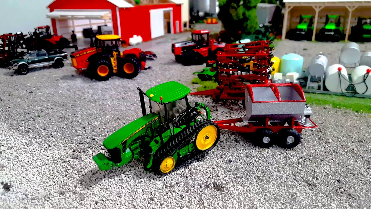 1/64 3d Printed Farm Toys Comparison