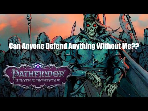 Pathfinder: Wrath of the Righteous - Demon Mythic Playthrough: A Story Interlude with Glitches/Bugs! |