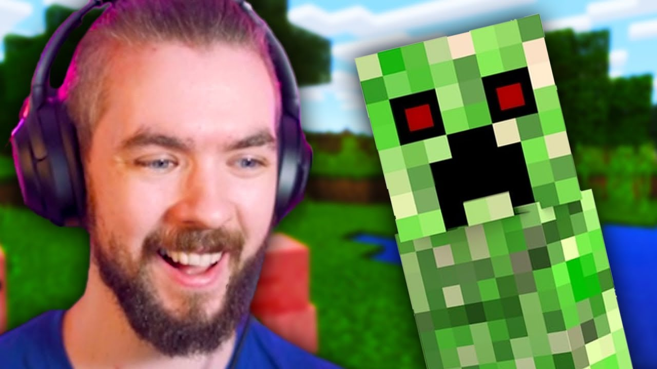 Playing Minecraft For The Very FIRST Time thumbnail