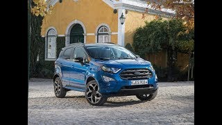 2018 Ford EcoSport Driving | Interior and Exterior Design
