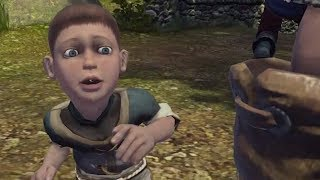 Fable is a game that lets you punch literally everyone