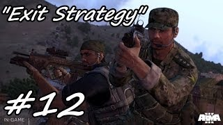 "Arma 3 Campaign Gameplay Walkthrough Part 12 ""Exit Strategy"" Episode 2"