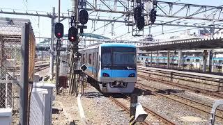 【小田急】4063F、EF81による推進運転で大宮入線