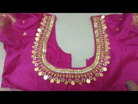 Heavy Kasula Works Design #arri Work Lakshmi Kasu Degine