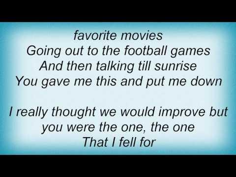 Taylor Swift - Unperfect Lyrics