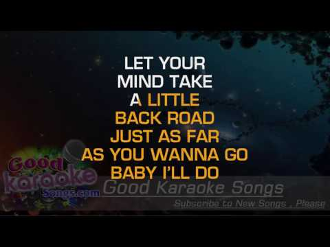 Sure Be Cool If You Did -  Blake Shelton (Lyrics Karaoke) [ goodkaraokesongs.com ]
