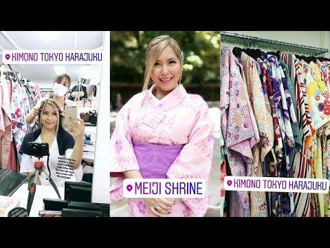 TOKYO TRAVEL VLOG | KIMONO TOKYO EXPERIENCE! *Daily Expense List Included (MAY 27, 2017) - saytioco