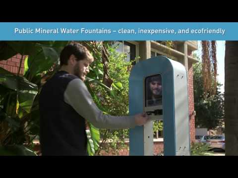 Public Mineral Water Fountains