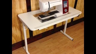 Leah's Affordable Sewing Table