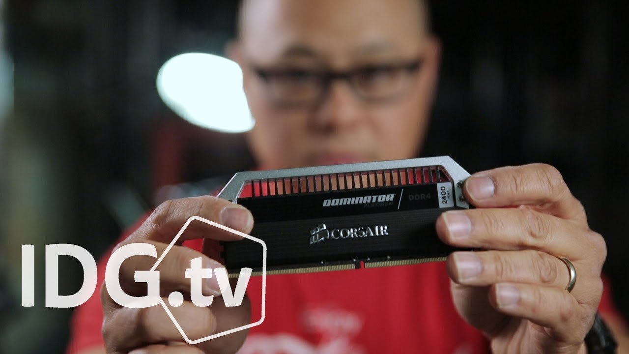 Here's what 128GB of DDR4 RAM in a PC looks like