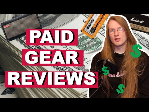 Paid Gear Reviews : My Opinion