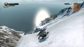Witcher 3 Skiing in Skellige