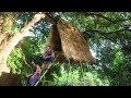 Build Tree house with bamboo