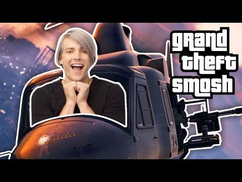 SURPRISE GTA HEIST (Grand Theft Smosh)