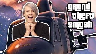SURPRISE GTA HEIST (Grand Theft Smosh) thumbnail