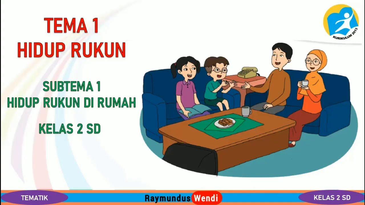 Ungkapan Dalam Bahasa Indonesia Tematik Kelas 2 Sd Tema 1 Subtema 1 Hidup Rukun Di Rumah Youtube