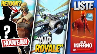"OTHER HIDDEN SKINS, ""AIR ROYALE"" EVENT - More on FORTNITE! (Fortnite News)"