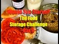 The Food Storage Challenge~Day 9
