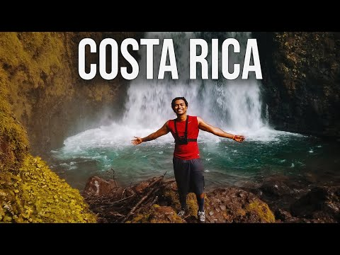 COSTA RICA- A day in SAN JOSE- Solo-travel VLOG