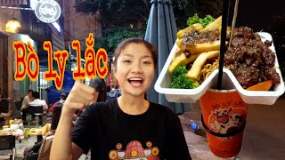Thử Thách 100k Ăn Vặt Ở Bò Ly Lắc | Wacky Cow| Như Quỳnh Kids
