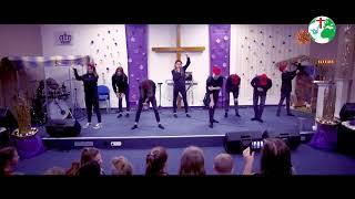 Танец подростков,Рождество 23.12.2018