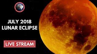 Lunar Eclipse Live | July 2018 Blood Moon