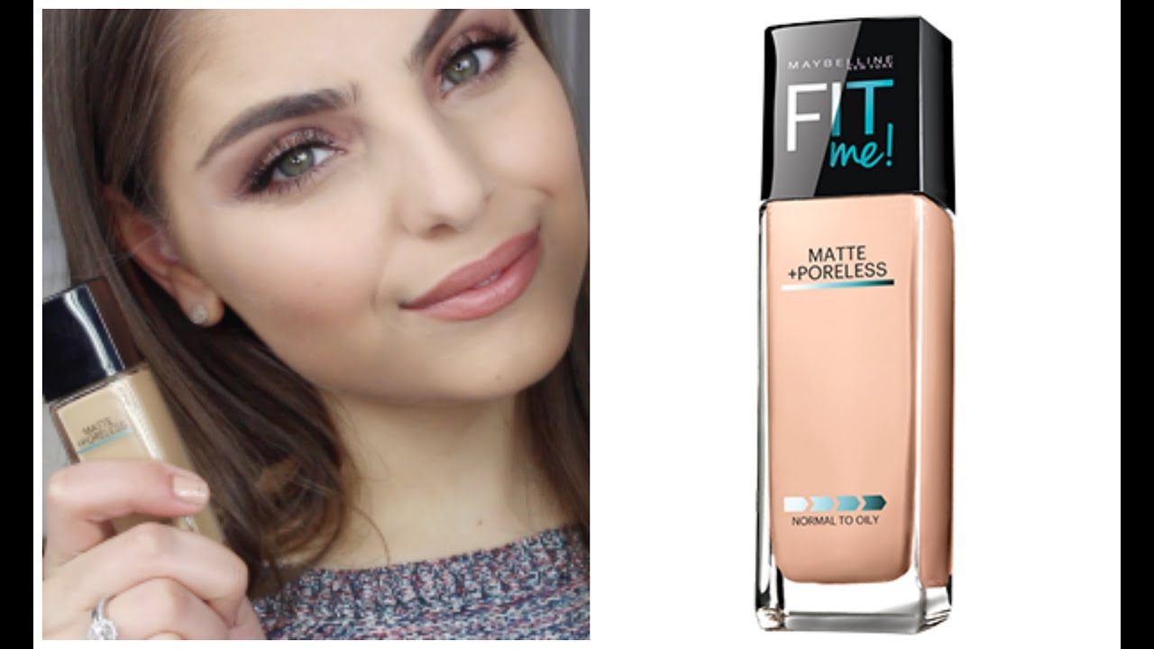 First Impressions Maybelline Fitme Matte Amp Poreless