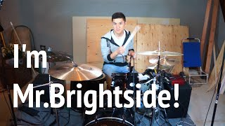 Mr.Brightside-The Killers- (Re-Drum Cover)