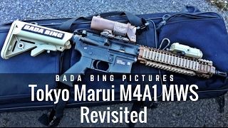 Tokyo Marui M4 MWS GBB Revisited: Mk18 MOD1 Edition