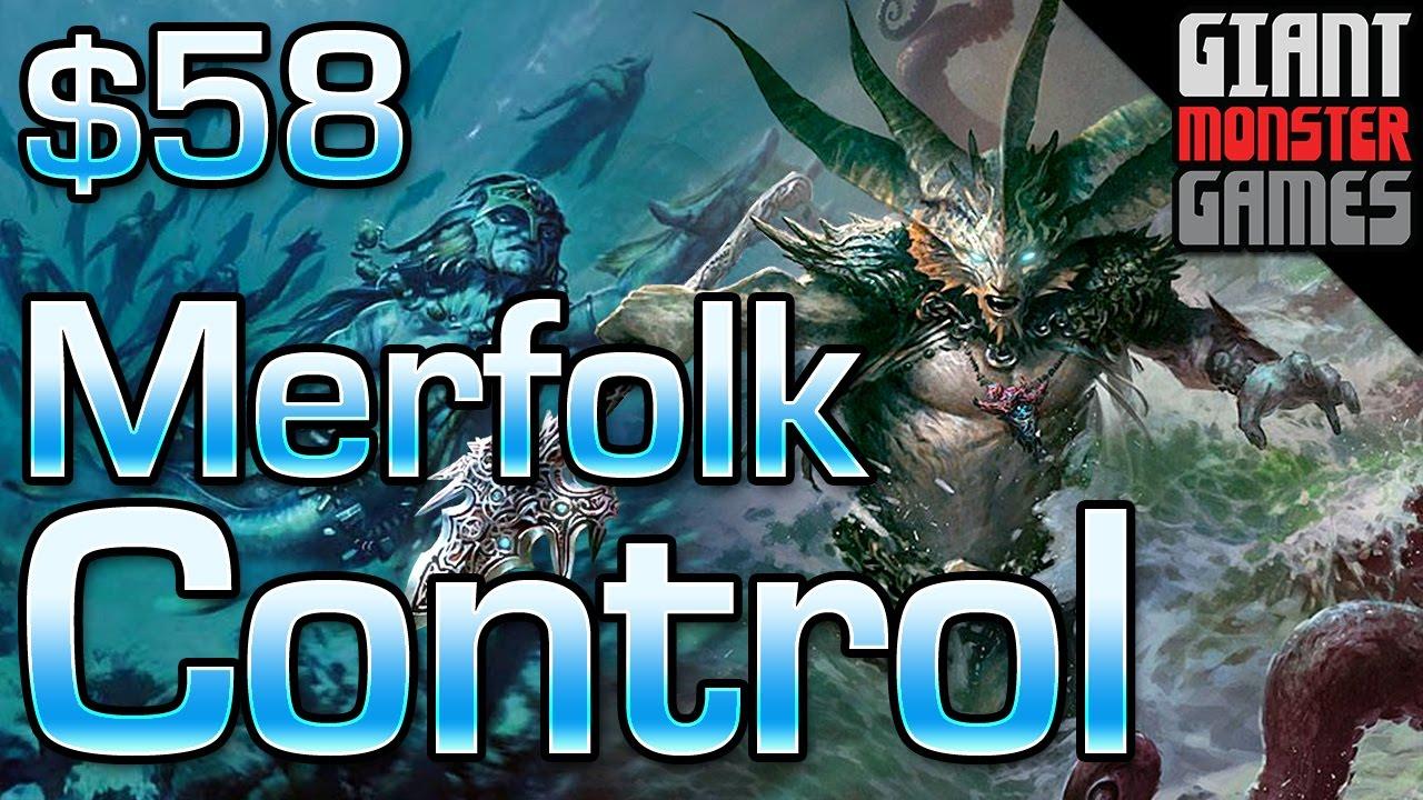 budget modern deck merfolk control 58 youtube
