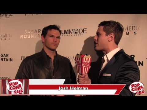 Sugar Mountain Premiere Interview   Josh Helman