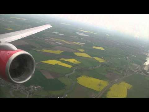 Takeoff from East Midlands (Jet2 Boeing 757-200)
