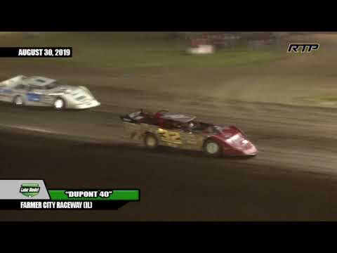 "2019 American Ethanol Late Model Tour ""DuPont 40"" At Farmer City Raceway - (HIGHLIGHTS)"