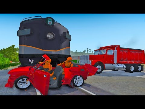 EPIC Train Crashes #16 - BeamNG.drive