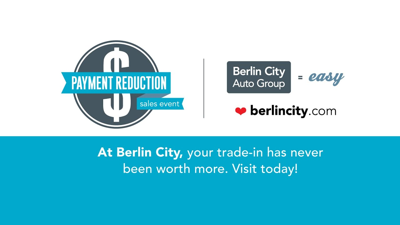 Berlin City Payment Reduction Sales Event