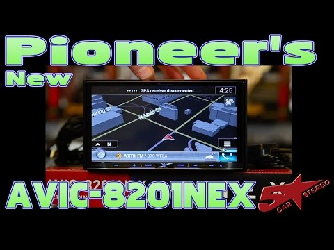 Pioneer's new 2017 AVIC 8201NEX unboxing and review