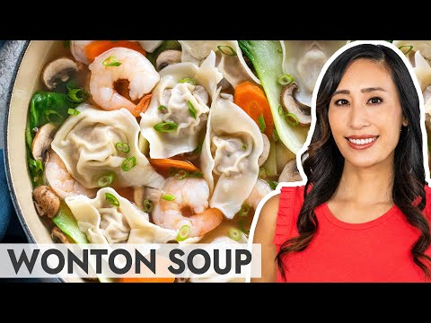 Easy Wonton Soup with Step-by-Step Instructions