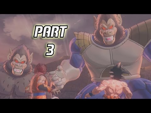 Dragon Ball Xenoverse 2 Gameplay Walkthrough Part 3 - Great Ape Transformation!!