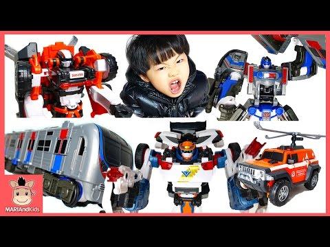 애슬론 또봇 3기 장난감 신제품 애슬론3기 장고 앰뷸런 메트론 긴급 출동 변신 ! 괴물 벌레 대결 놀이 Car kids toys play | 말이야와아이들 MariAndKids