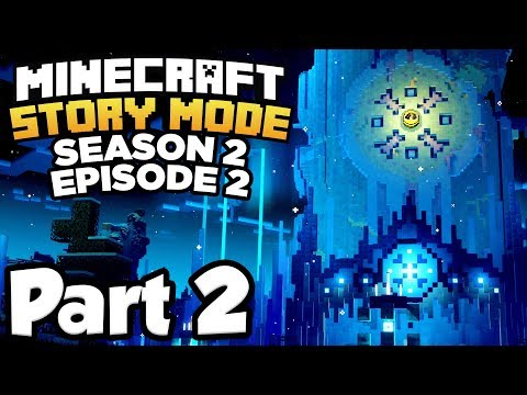 Minecraft: Story Mode Season 2 [Episode 2] Part 2 - MASSIVE ICE CASTLE!!! (Full Gameplay)