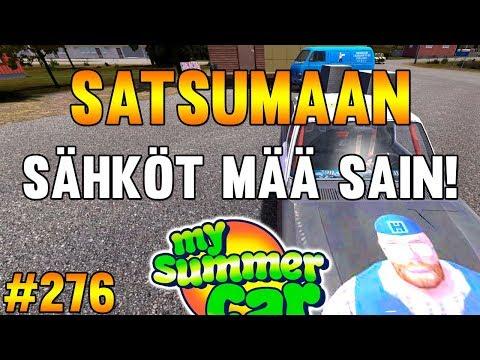 My Summer Car #277   Satsumaan Sähköt Mää Sain!