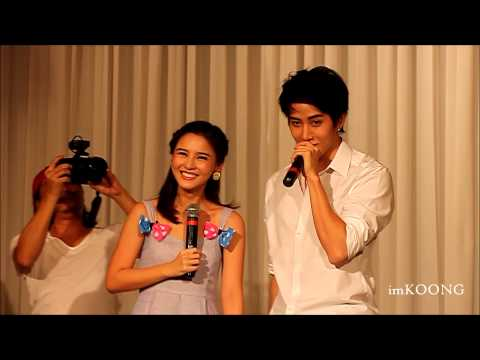 [Aomike] ร้องเพลง Oh Baby I @ Meet&Greet with Aom Sushar [2014.04.20]