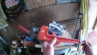 Returning a Pipe Wrench