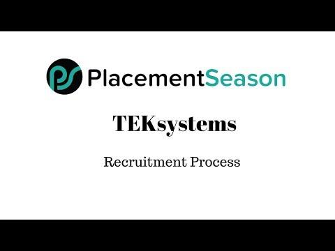 TEK Systems Recruitment Process