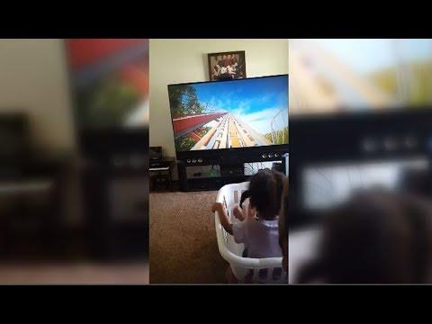 WiLD Feed - Dad Creates Home Made Virtual Reality Roller Coaster