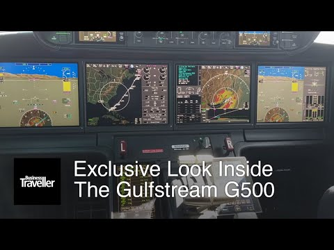 Exclusive Look Inside The Gulfstream G500 (Part 1)  | Business Traveller