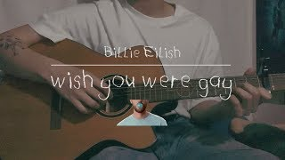 Billie Eilish - wish you were gay / cover by 정유빈 (male ver.) Video