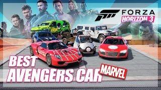 Forza Horizon 3 - Best Marvel Avenger! (Throwback w/The Crew)